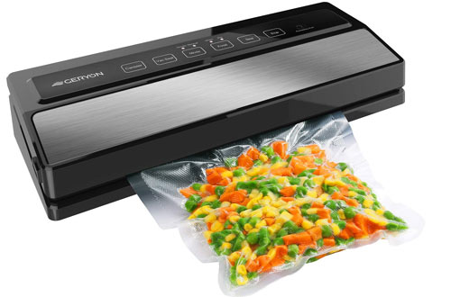 GERYON Compact Automatic Food Sealer for Food Savers with Starter Kit