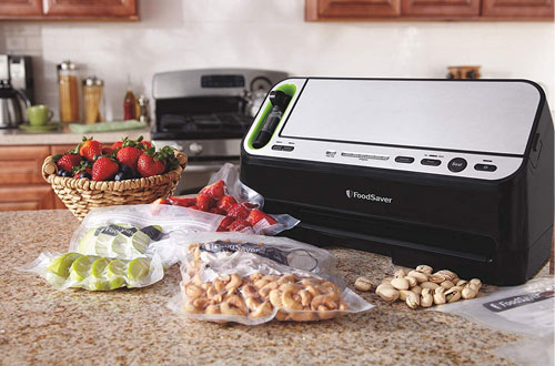 Foodsaver Black & Silver Vacuum Sealer Machine