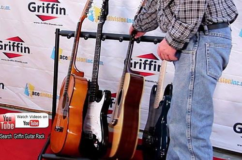GriffinHolder for Guitars & Folds Up