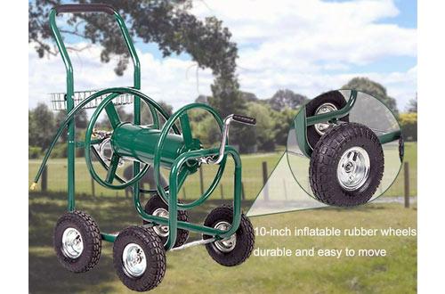 FDW Outdoor Garden Water Hose Reel Cart