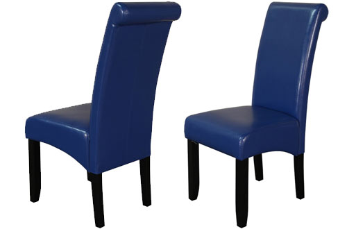 Monsoon Pacific Milan Faux Leather Dining Chairs