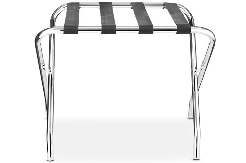Whitmor Chrome Foldable Commercial Luggage Rack