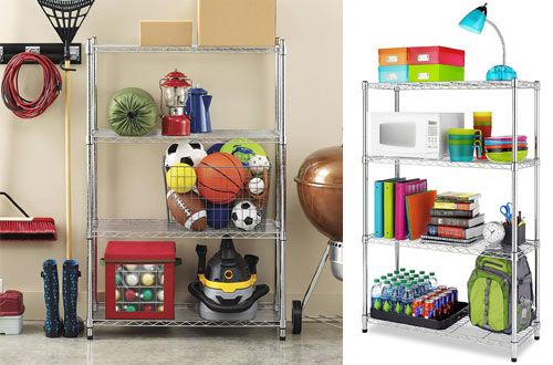 Whitmor Supreme 4 Tier Shelving Unit