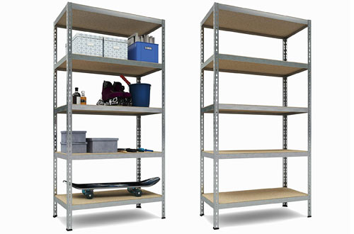 TKT Heavy Duty Shelving 5-Shelf Shelving Unit