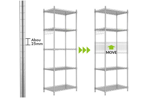 Adjustable Heavy Duty Storage Shelves