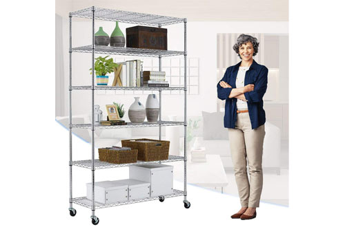 Paylesshere 6 Tier Heavy Duty Storage Shelves