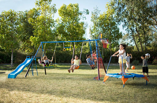 Top 10 Best Metal Swing Sets For Kids And Adults Reviews In 2019