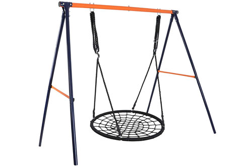 LEMY Large Heavy Duty All-Steel Swing Frame Stand
