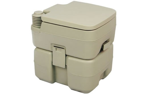 Palm Springs Outdoor 5 Gal Portable Toilet for Camping