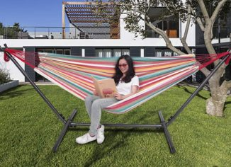 OnCloud Double Hammock with 9 FT Stand
