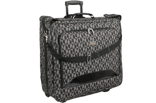 Geoffrey Beene DeluxeHearts Fashion Travel Garment Carrier With Wheels