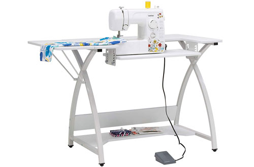 Sew Ready STDN-38017  White Venus Sewing Table