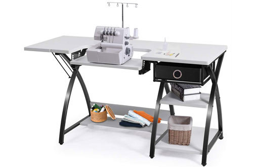 Machine Tables with Drawer & Shelves