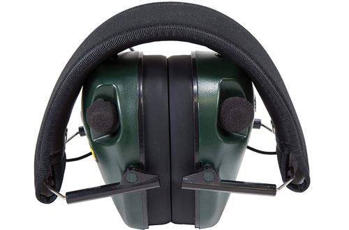 Caldwell E-Max Sound Amplification & Adjustable Earmuffs for Shooting, Hunting and Range