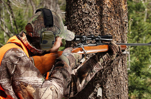 GLORYFIRE Electric Earmuffs for Hunting and Shooting