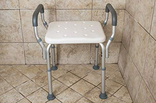 Essential Medical Shower Bench with Arms
