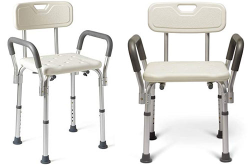 Bath Seat with Padded Armrests & Back
