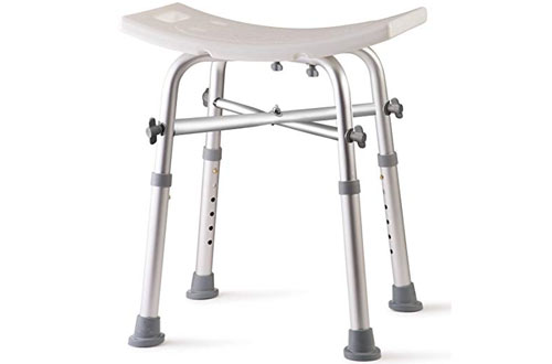 Dr Kay's Adjustable Top Rated Shower Bench