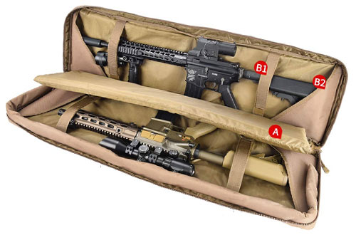Tactical Gun Case for Hunting and Shooting
