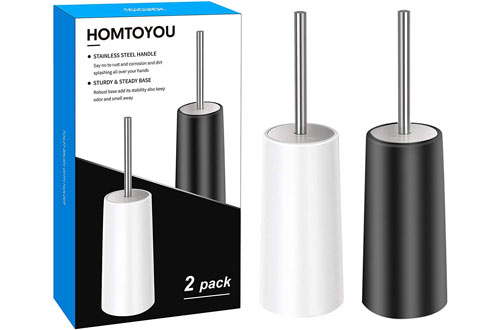 HOMTOYOU Stainless Steel Brushes