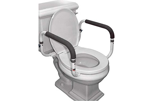 Carex Safety Toilet Rails For Elderly & Handicap