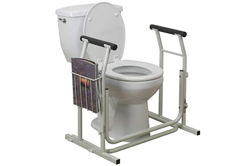 Drive Medical Stand Alone Toilet Rail