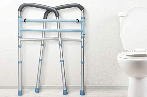 OasisSpace Heavy Duty Medical Toilet Safety Frame for Elderly, Handicap and Disabled