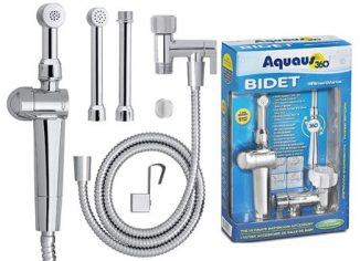RinseWorks - Aquaus Hand Held Bidet Sprayer for Toilet