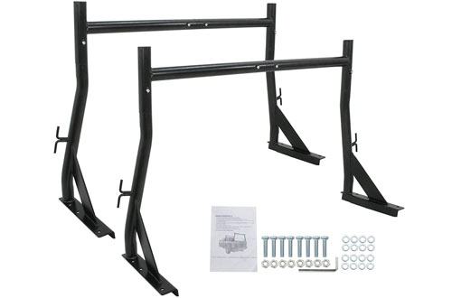 F2C Adjustable UtilityCargo Truck Rack -650LB Capacity