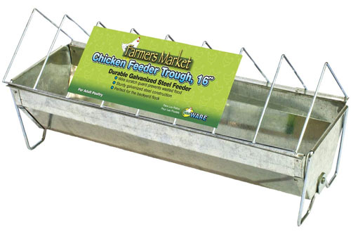 are Manufacturing Chicken Feeder Trough