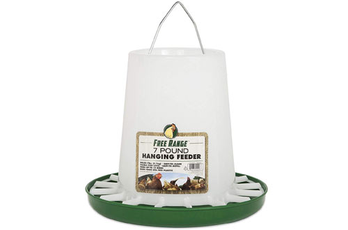 Harris Farms Free Range Hanging Plastic Poultry Feeder