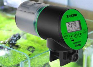 ZacroRechargeable TimerAutomatic Fish Feedersfor Aquarium & Fish Tank