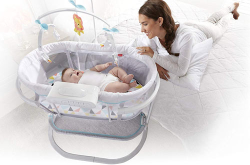 Fisher-Price Soothing Motions Windmill Bassinet for Baby