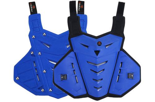 RIDBIKER Motorcycle Armor Vest Protector & Motocross Off-Road Racing Vest