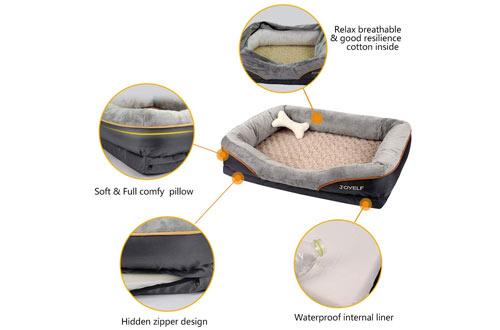 JOYELF Orthopedic Dog Beds with Removable Washable Cover