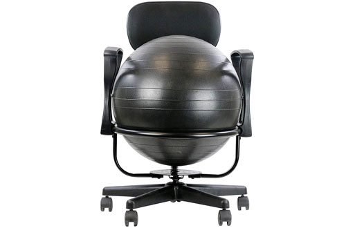 CanDo Metal Ball Chairwith Arms