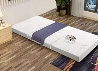 Milliard Tri Folding Mattress withRemovable Bamboo Cover
