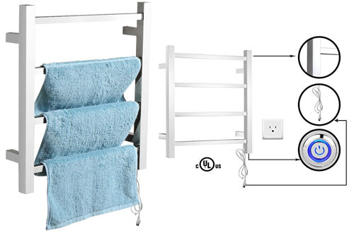 SHARNDY Wall Mounted Electric Heated Towel racks