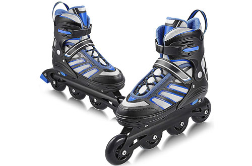 Hikole Breathable Switchable Roller Inline Skates for Beginner & Intermediate