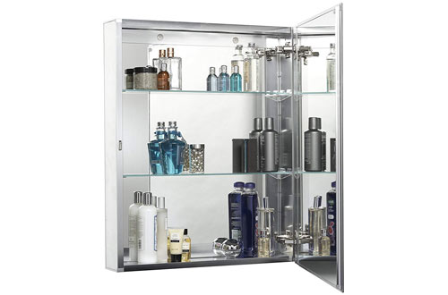 Croydex HavenRecessed / Surface Mount Medicine Cabinets with Hang