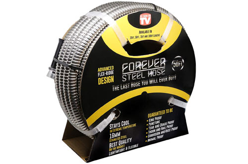 Forever 304 Stainless Steel Garden Hose - As Seen On TV
