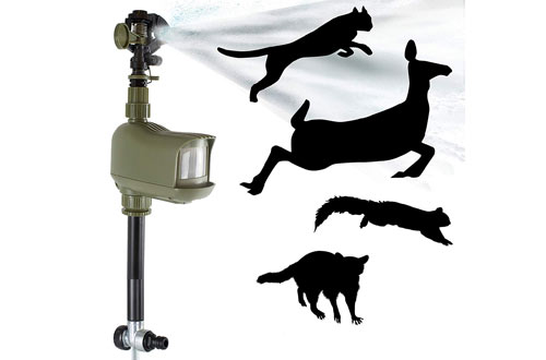 Havahart 5277 Motion-Activated Animal Repellent and Sprinkler