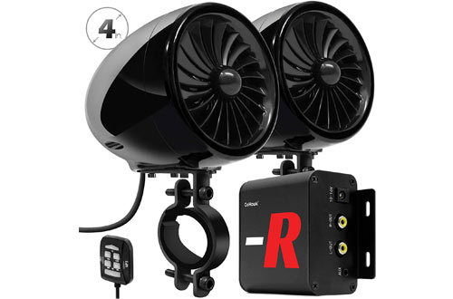 GoHawk TJ4-RFull Range Bluetooth Motorcycle Speakers