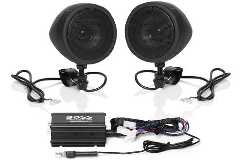 Boss Audio Systems MCBK420B Speaker with ATVs Motorcycles