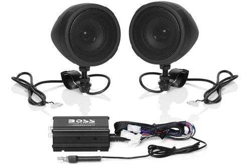 Boss Audio Systems MCBK420B Speakerwith ATVs Motorcycles
