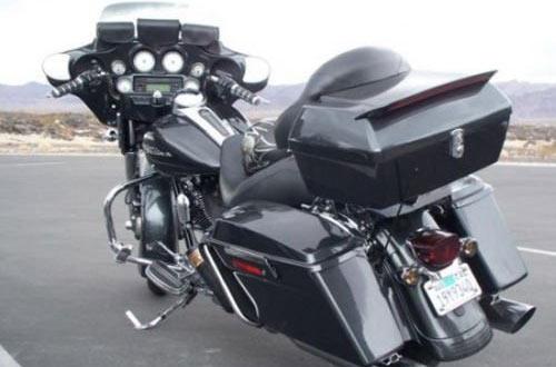 7blacksmiths Motorcycle Trunks forHonda Yamaha Cruiser