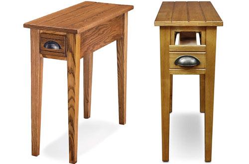 Leick Bin PullCandle GlowNarrow Side Tables