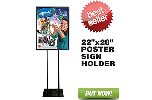 Floor Standing Poster Stands & Sign Holder