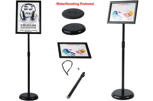 T-SIGN Adjustable Pedestal Poster Display Stand