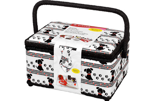 SINGER Sewing Basket with Notions